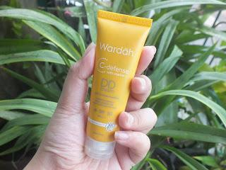 [ REVIEW ] WARDAH DD CREAM C-DEFENCE SPF 30 +++