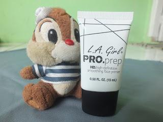 [ REVIEW ]  L.A GIRL PRO.Prep HD.High-Definition Smoothing Face Primer