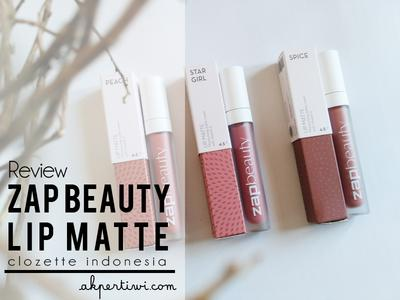 [REVIEW] ZAP Beauty Lip Matte