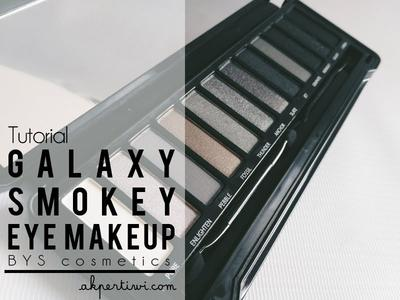 [TUTORIAL] Galaxy Smokey Eye