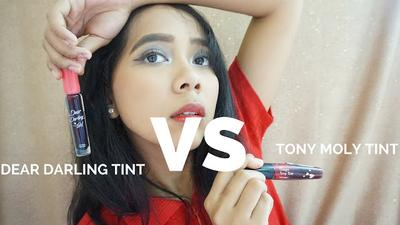 Beauty Battle: Dear Darling Tint VS Tony Moly Tint