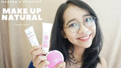Beauty Review: Marina Face Moisturizer, Marina BB Cream, dan Marina Smooth&Glow UV Two Way Cake
