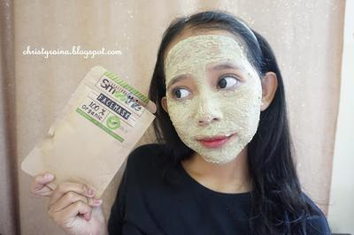 Beauty Review: Masker Green Tea 100% Organic by Smoothie.Mask