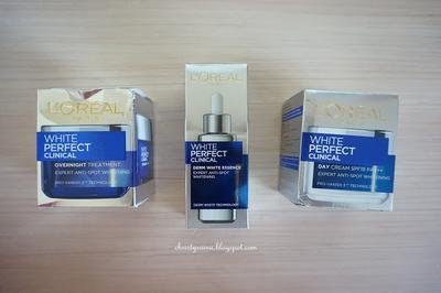 Beauty Review: Menyelesaikan Masalah Kulit Kusam dengan Rangkaian L'Oreal Paris White Perfect Clinical