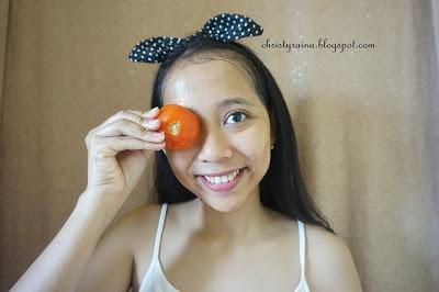 Cantik Alami dengan Scrub Tomat