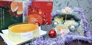 REKOMENDASI MOLTEN CHEESE CAKE FAVORITE : KIBO CHEESE CAKE CHRISTMAS EDITION
