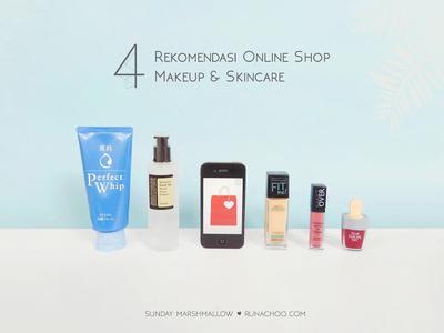 4 Rekomendasi Make Up Online Shop