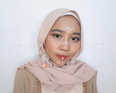 Festival Makeup Looks - Coachella Hijab Insipired Makeup Looks