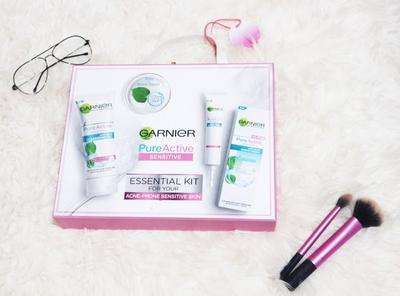 Review Garnier Pure Active Sensitive Solusi Untuk Jerawatku