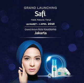 Alhamdulillah #SafiAdaUntukKita Grand Launching SAFI