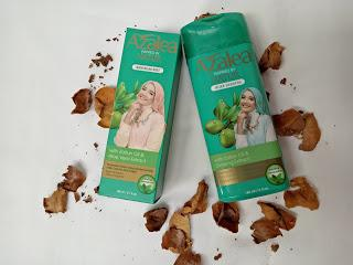 Review Azlaea Shampo dan Hair Body Mist (Rambut sehat dan kuat meski memakai hijab) by Maya Dewi Resmi