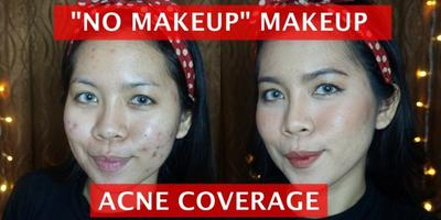 """""""No Makeup"""" Makeup Acne Coverage 