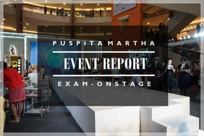 Event Report: Puspita Martha Examination On Stage