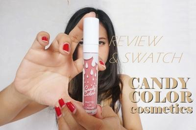 Review & Swatch Candy Color Cosmetic Shade Gummy Bear
