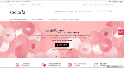 Are You Make Up Junkie? Go to Sociolla & Shop Use Discount Voucher :)