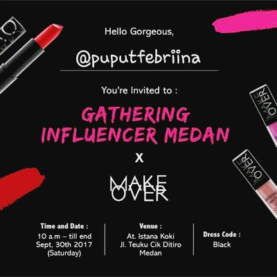 EVENT : Make Over Gathering Influencer Medan