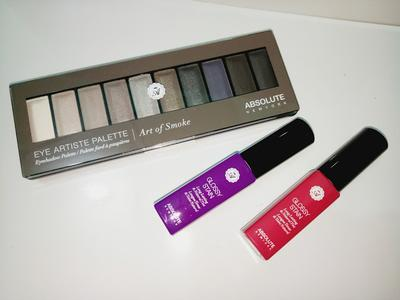 REVIEW: Absolute New York Eye Artist Eyeshadow Pallet & Glossy Stain Lipstick