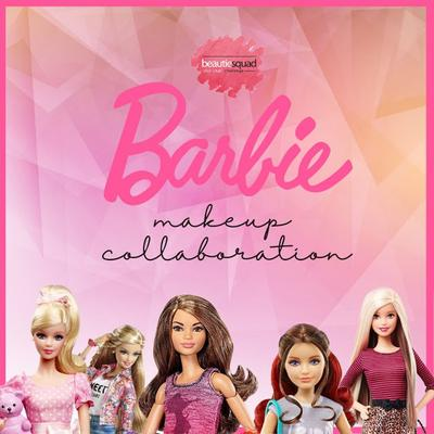 Beautiesquad Barbie Makeup Collaboration