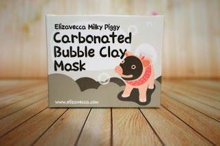 REVIEW Elizavecca Milky Piggy Carbonated Bubble Clay Mask [ BAHASA ]
