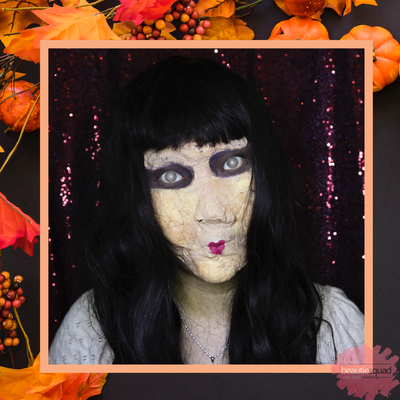 BEAUTIESQUAD Halloween Makeup Collaboration Makeup : Syper Creepy Doll ala Villyana