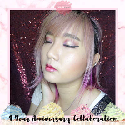 Birthday Makeup Collaboration with Beautiesquad