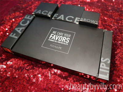 Focallure Series : EYES — Bright Lux Eyeshadow Pallete and Brows Gel Cream Pomade Review