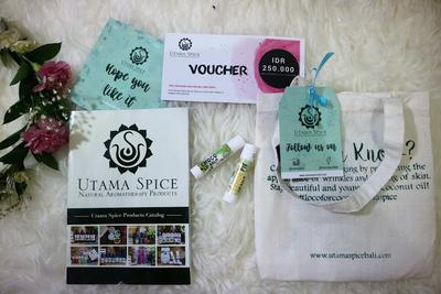 Utama Spice Lemon Pie & Coco Mint Lip Balm