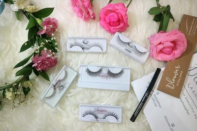D'louver lashes and Eye Liner review