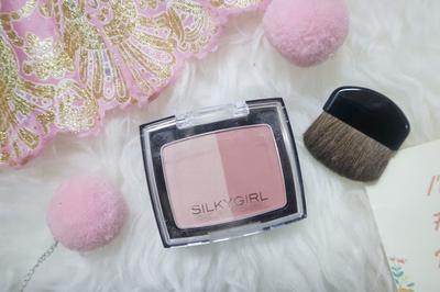 Silky Girl Shimmer Duo Blusher