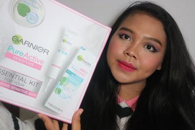 My First Ever Sociolla Package is: Garnier Pure Active Sensitive Kit!