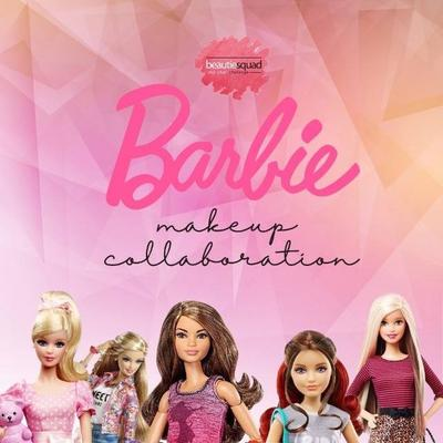 Maret Collab with Beautiesquad: Barbie Make Up Look!
