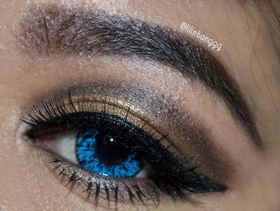 EOTD: When Blue Meets Gold + Tutorial