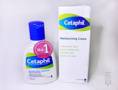 Review: Cetaphil Gentle Skin Cleanser & Cetaphil Moisturising Cream