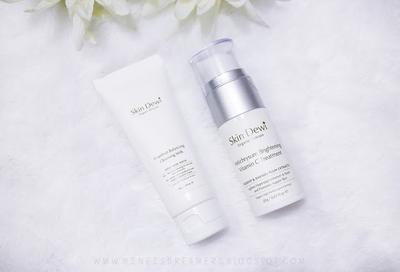 Skin Dewi Hazelnut Cleansing Milk & Helichrysum Brightening Vitamin C Treatment
