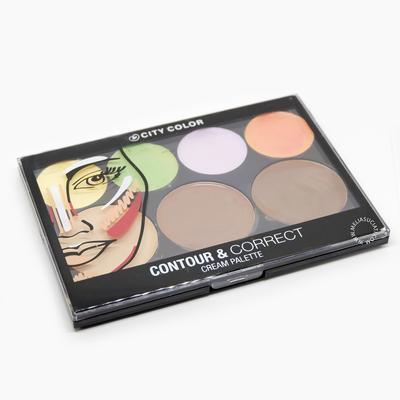 [Review & Swatches] City Color Contour & Correct Cream Palette