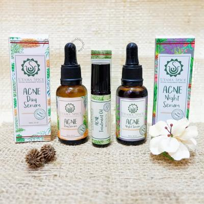 Review Utama Spice Acne Serum dan Treatment Oil