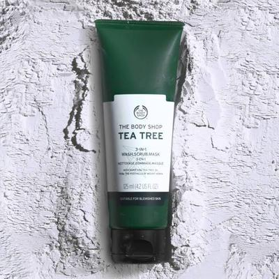 [REVIEW] The Body Shop 3-in-1 Wash Scrub Mask