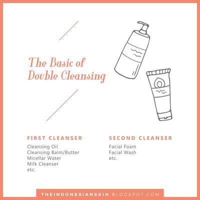[TIPS] Cara Double Cleansing untuk Pemula