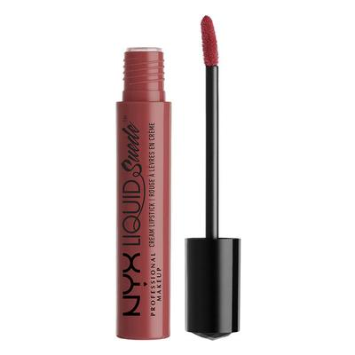 [REVIEW] NYX Liquid Suede Cream Lipstick (Soft-Spoken)