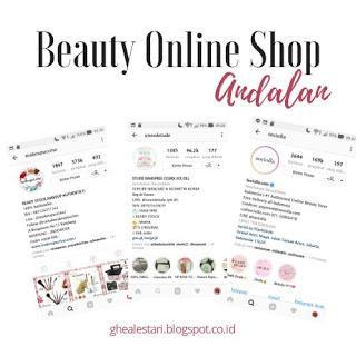 Beauty Online Shop Andalan