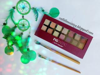 [REVIEW] CITY COLOR FIGTASTIC EYESHADOW PALLETE