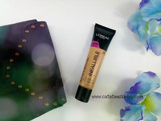 [REVIEW] LOREAL INFALLIBLE TOTAL COVER FOUNDATION