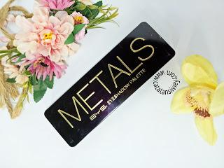 [REVIEW] BYS METALS EYESHADOW PALLETE