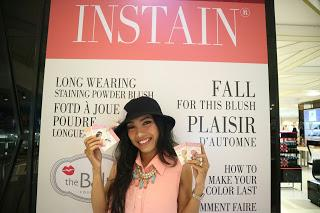 [EVENT REPORT] SWATCH AND REVIEW THE BALM INSTAIN LONG WEARING STAINING BLUSH WITH BALI BEAUTY BLOGGER
