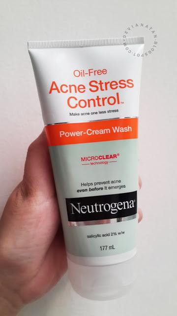 Neutrogena Oil-Free Acne Stress Control Power Cream Wash - Review