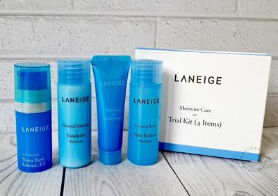 Laneige Moisture Care Trial Kit 4 Item - Review