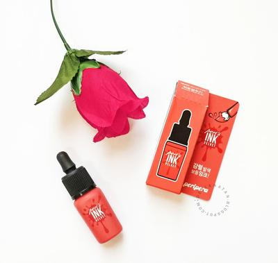 Peripera Peri's Ink The Velvet #014 Beauty Peak Rose - Review and Swatches