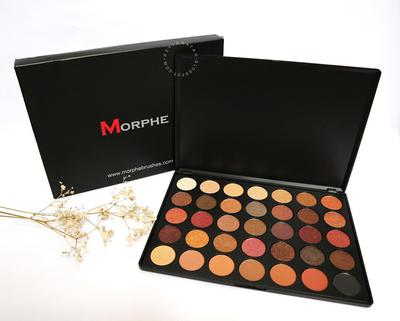 Morphe 35F Fall Into Frost Eyeshadow Palette - Review & Swatches