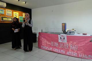 Event Halal Bi Halal Hijab Sister Bali (demo makeup)