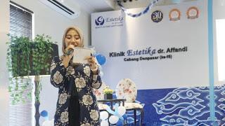 Klinik Estetika dr Affandi cabang Denpasar | Pre Anniversary Bali Beauty Blogger
